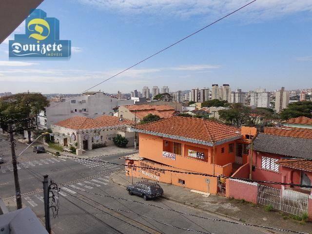 Sobrado residencial à venda, Vila Alzira, Santo André. - Foto 7