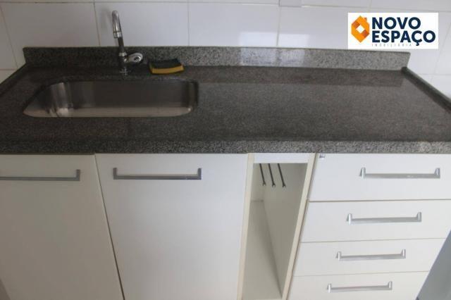 Apartamento com 2 dormitórios para alugar, 70 m² por R$ 1.000/mês - Centro - Campos dos Go - Foto 15
