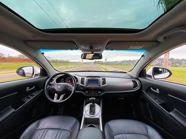 Sportage EX Top de Linha Teto Panorâmico Placa I - Ix35 Compass Renegade Corolla - Foto 12