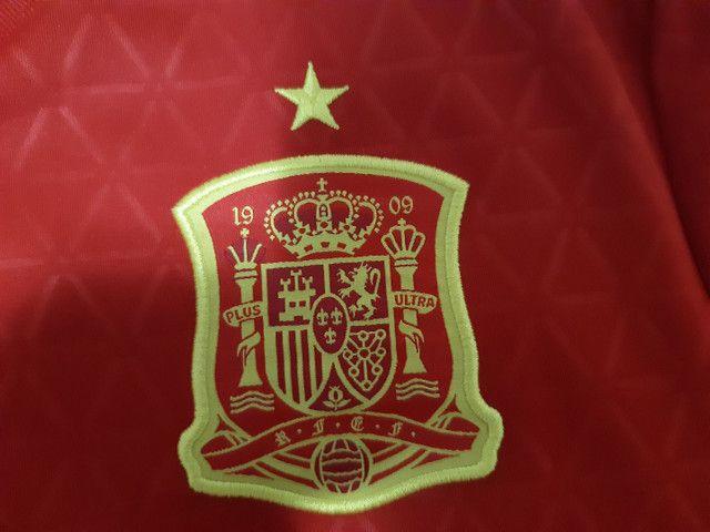 Camiseta Espanha Adidas - Foto 4