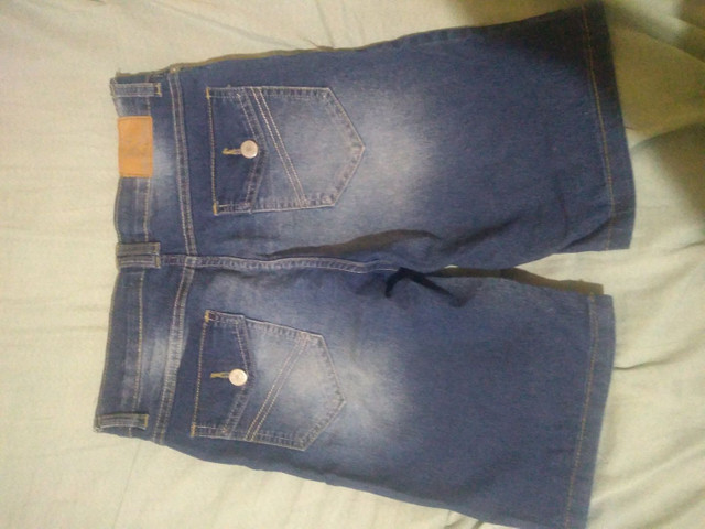 Bermuda jeans infantil - Foto 3