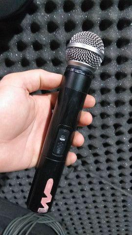 Microfone sem fio LeSon SM-58 - Foto 3