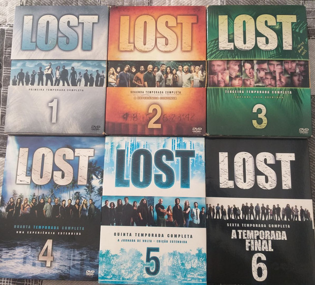 DVDs seriado lost
