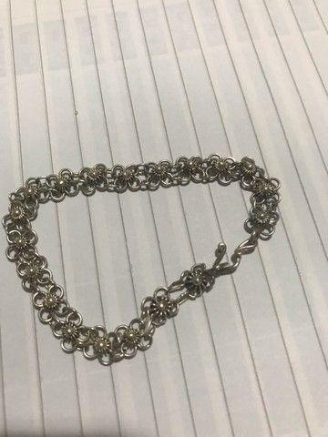Pulseira de prata  - Foto 2