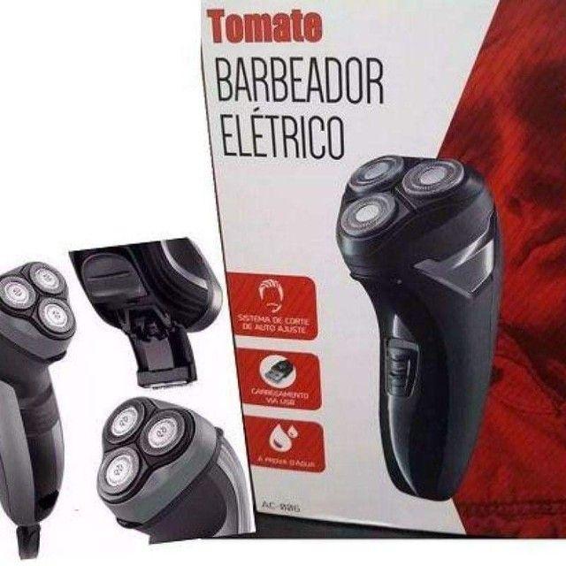 Barbeador e aparador de pelos Elétrico Tomate AC-006<br> ( entrega grátis)