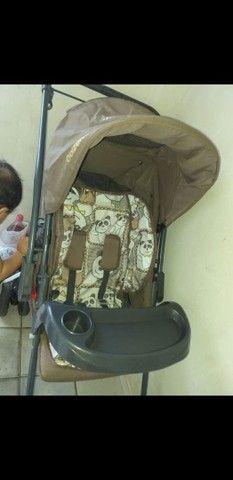Carrinho de bebê seminovo - Foto 4