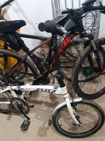Bicicleta blitz seminova - Foto 3