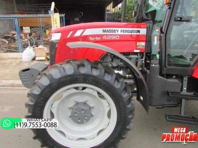 Trator Massey Ferguson 4290 4x4 ano 17 98900 - Foto 3