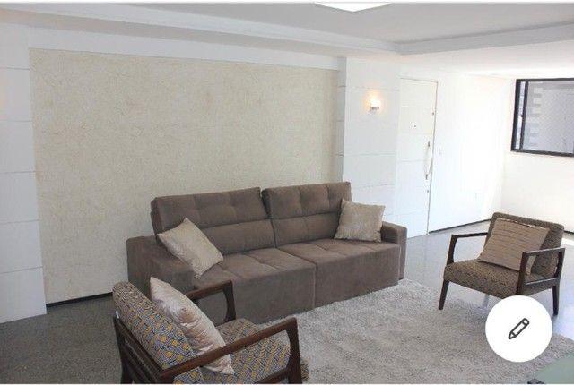 Lindo Apartamento, vista mar, com 158m² a 150m da Abolição, com 3 suítes. - Foto 12