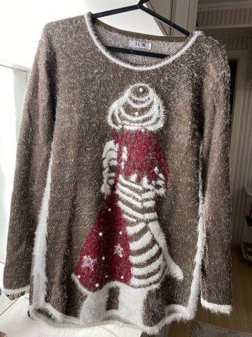 Blusas de inverno Tricot feminino - Foto 3