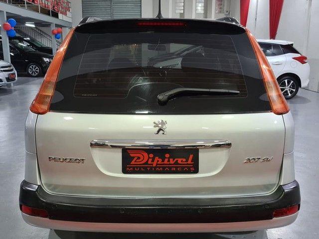 """Peugeot 207 SW XR Sport 1.4 8V FLEX 4P 2010 """"Periciado"""" - Foto 5"""