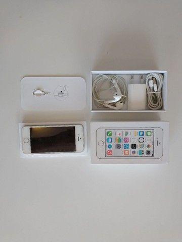 iPhone 5S Branco 16GB - Foto 4