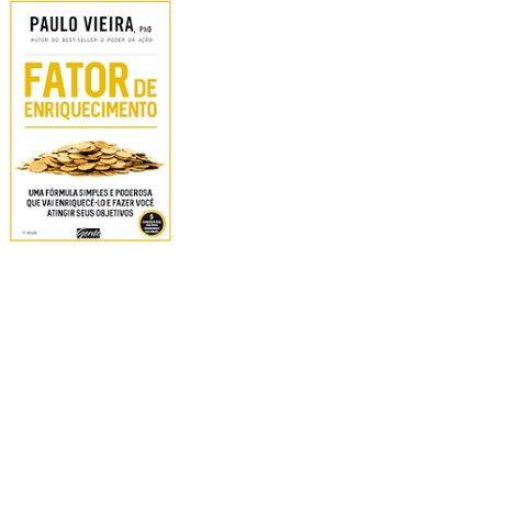 Livro - Fator de enriquecimento Paulo Viera