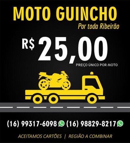 Guincho motos PREÇO ÚNICO EM RIBEIRÃO PRETO