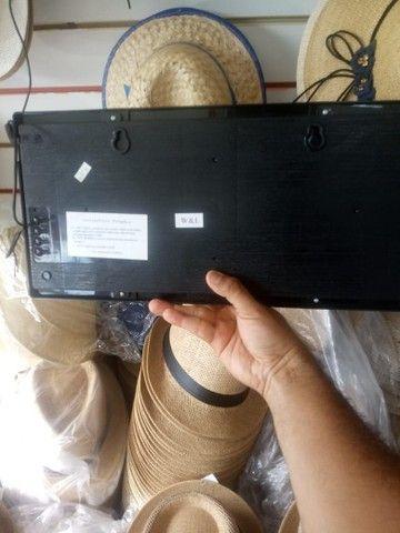 Relógio digital de parede 45cm pôr 21cm(entrega grátis para jp) - Foto 2