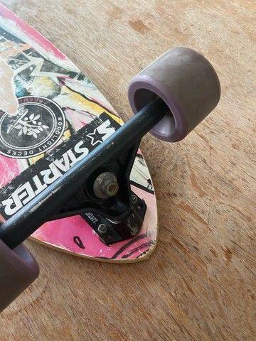 Skate longboard - Foto 6