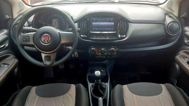 Fiat uno way motor 1.4 8v evo flex 4p prata ano 2015 raridade 36.000km ipva2021pgvist.  - Foto 8