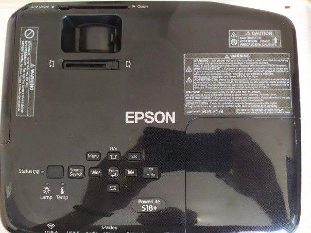 Data Show Multimídia Epson S18 + 6 Meses de Garantia - Foto 4