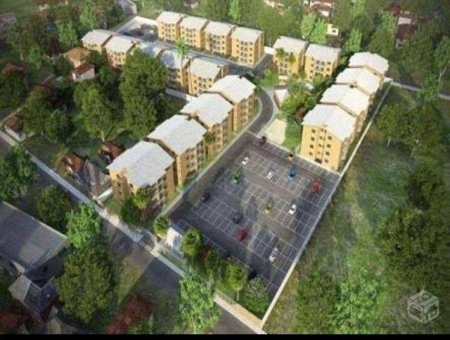Cond. Parque Itaóca - vende ótimo apartamentos com sacada, 2/4 com e sem suíte. - Foto 6