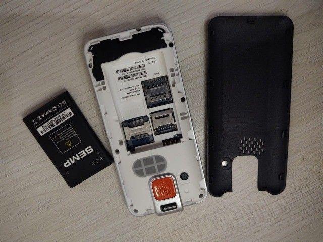 Celular teclado - SEMP celular para idosos - Foto 3