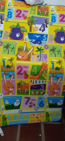 Tapete infantil- medidas:  1.80 x 1.00- grátis  bolsa - Foto 3