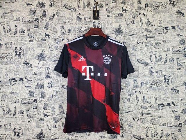 Camisa Bayern de Munique Uniforme III Temporada 2020 2021