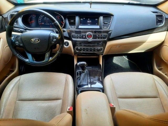 Kia Cadenza EX 3.5 V6 2014 Blindado  - Foto 10