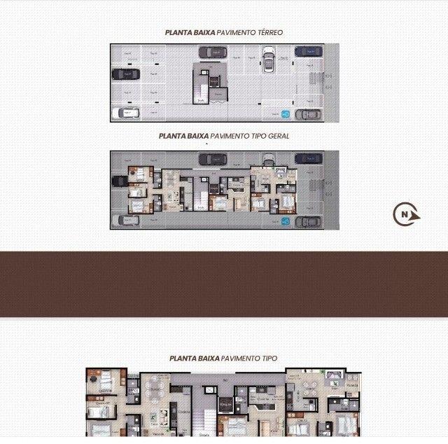 Apartamento Bancários com, 1 ou 3 Quartos com Área de Lazer na Cobertura - Em Construção! - Foto 3