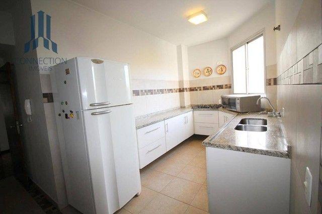 Apartamento com 3 dormitórios para alugar, 120 m² por R$ 2.000,00/mês - Centro Cívico - Cu - Foto 14