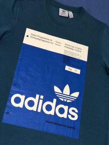 Camiseta Adidas usada - Foto 2