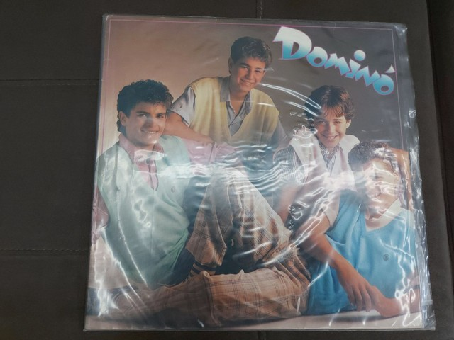 LP (Disco de vinil) Menudo e Dominó - Foto 5