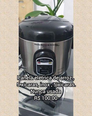 Churrasqueira e panela arroz eletricas - Foto 3