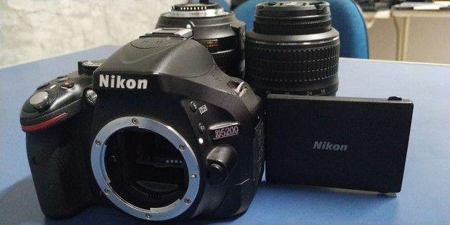 Câmera Nikon D5200 - Foto 5