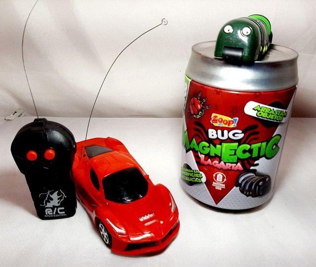 Carrinho de Controle Remoto e Bug Magnético