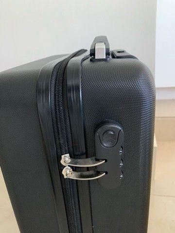 Jogo de malas Konos com um troley de cabine e uma mala grande. Usada somente uma vez. - Foto 5