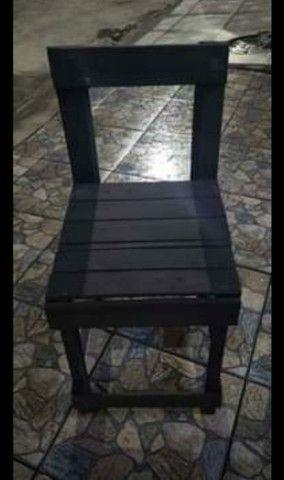 Lote de cadeiras de pallet - Foto 3