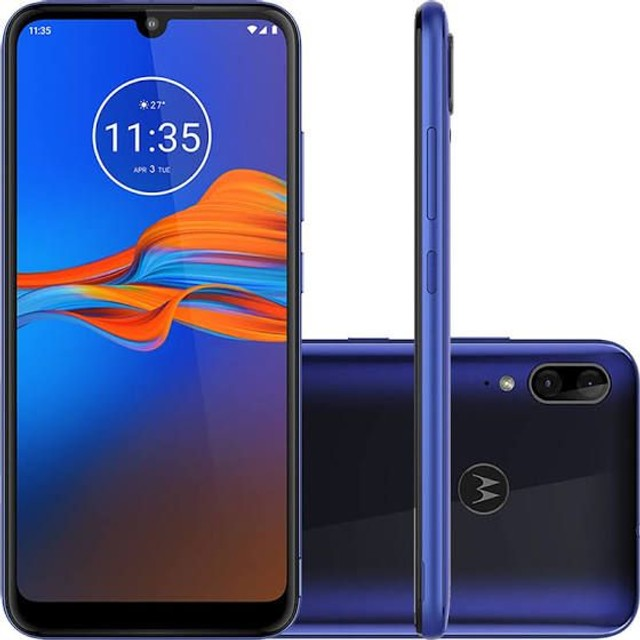 Motorola Moto E6 PLUS 64gb, Dual Chip, Android 9.0, Tela 6,1