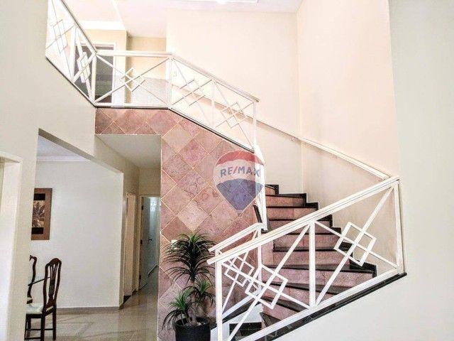 Casa no Catolé, com 340m², 5 quartos, sendo 3 suítes e 4 salas. - Foto 12