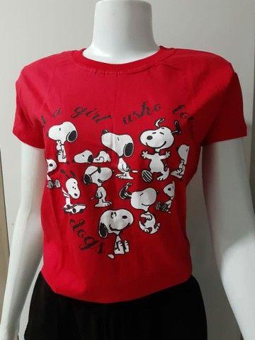 Blusas T-shirts - Foto 4