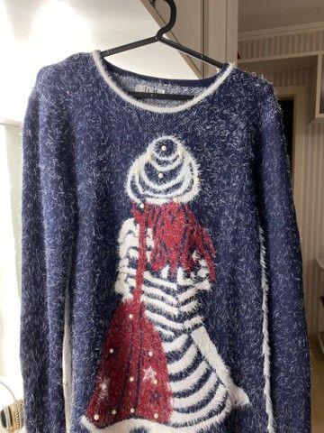 Blusas de inverno Tricot feminino - Foto 4