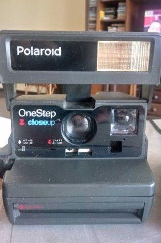 Câmera polaroide oneStep antiga decoração