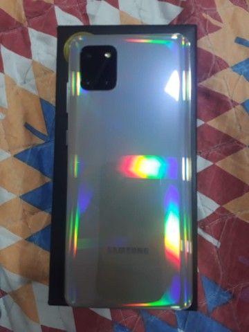 Samsung Galaxy Note 10 Lite Prata - Foto 2