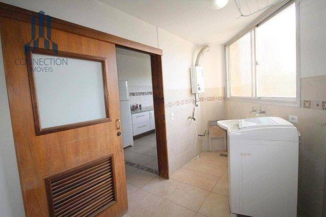 Apartamento com 3 dormitórios para alugar, 120 m² por R$ 2.000,00/mês - Centro Cívico - Cu - Foto 15