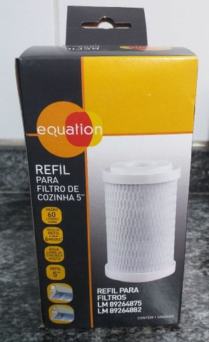 Filtro de água para cozinha + refil filtro Equation  - Foto 3