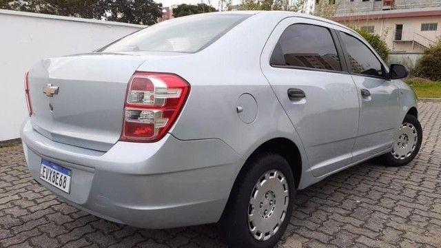 04 L - Chevrolet Cobalt LS 1.4 8V Flex 2012 Completo Top Espaçoso - Foto 3