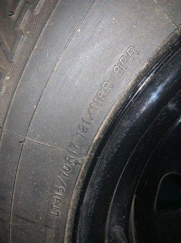 pneu rodas  para jeep willys trilha troller  - Foto 8