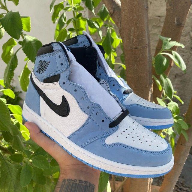 Tênis Jordan 1 High University Blue  - Foto 3