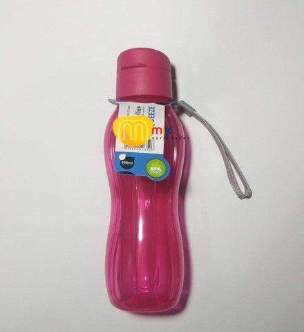 Garrafinha De Água 600 Ml Portátil Resistente Livre De Bpa - Foto 6