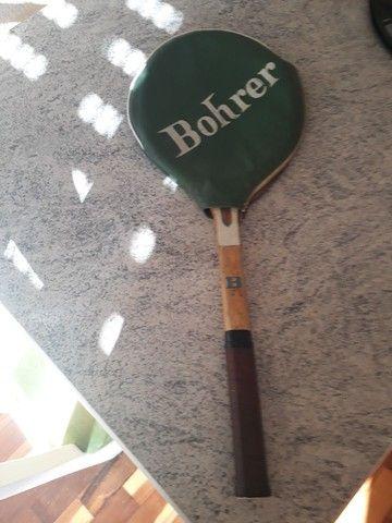 Raquete de madeira Bohrer