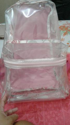 Bolsa transparente ideal para estágio (hospital )